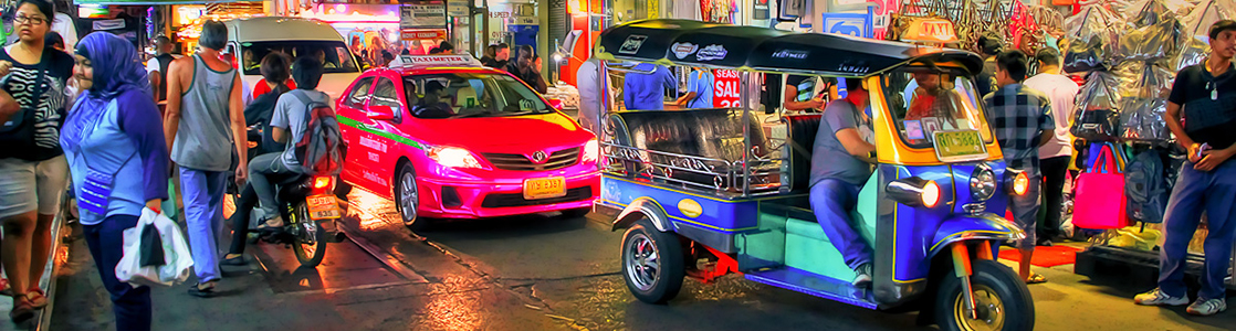 Thaiföldön taxizni