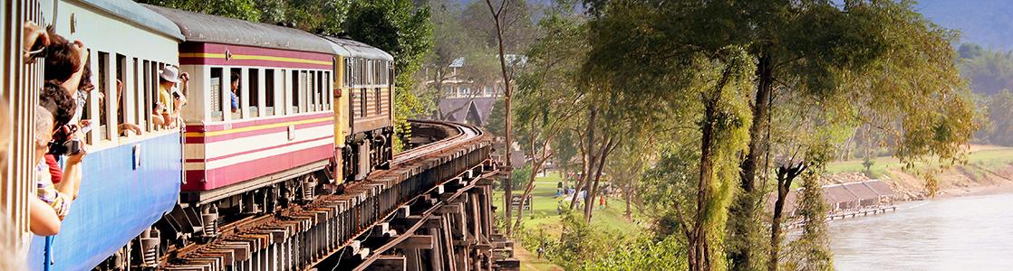 Vonattal Thaiföld