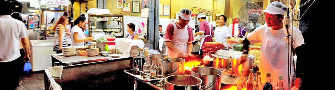 thaiföld ételek